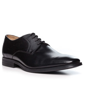 Clarks Gilman Lace Black Leather 26127654g