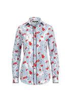 Baumwollhemd Mit Blumenmuster