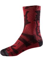 "Fox Womens 8"" Print Socks"