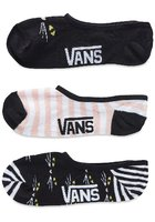 Vans Right Meow Canoodle (7-10) 3pk Socks