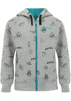 Animal Holtet Zip Hoodie Boys