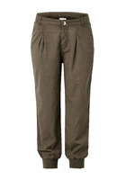 Hose, Mit Elastikbündchen Am Beinabschluss, Sportiv, Baumwolle