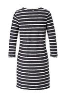 Kleid, Im Streifen Look