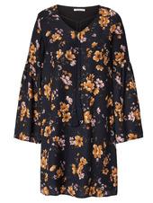 Kleid, Mit Farbenfrohem Print