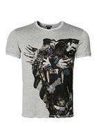 Just Cavalli V-shirt Grau F4500/7463