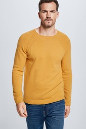Strickpullover Rector - S.c.collection, Gelb