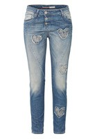 Jeans P15, Herz-applikationen