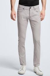 Five Pocket Jeans Robin, Silber