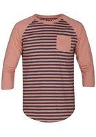 Hurley Gunwhale 3/4 Crew T-shirt Ls