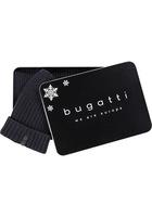 Bugatti Schal+mütze 80810/6350/390