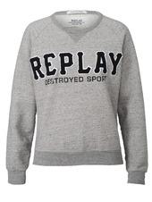 Sweatshirt, Mit Logo-applikation