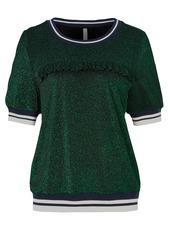 Shirt, Mit Angesetzter Rüschenkante