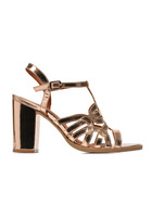 Made By Sarenza - Square Simone #1 - Sandalen Für Damen / Gold/bronze