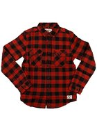 Billabong All Day Flannel Shirt Ls Boys