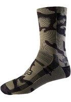 """Fox 8"""" Print Socks"""
