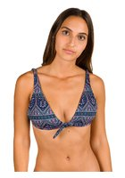 Roxy Sun,surf And Elongated Tri Bikini Top