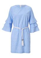 Kleid, Mit Volantärmeln