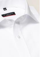 Eterna Langarm Hemd Modern Fit Popeline Weiss Unifarben