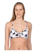 Rvca Fading Petals Bralette Bikini Top