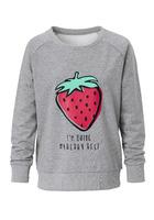 Sweatshirt, Mit Frontprint