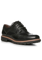 Clarks Batcombe Wing Black Leather 26127192g