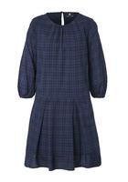 Kleid, Mit Modischem Check