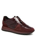 Geox - D Tabelya A D84aqa - Sneaker Für Damen / Weinrot