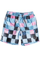 "Quiksilver Resin Check Volley 15"" Boardshorts Boys"