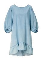 Kleid, Mit Tiefem Rückenausschnitt