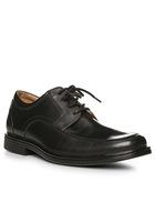 Clarks Un Aldric Park Black Leather 26132576h