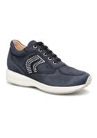 Geox - D Happy C D5462c - Sneaker Für Damen / Blau