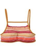 Rvca Stripe Type Bralette Bikini Top