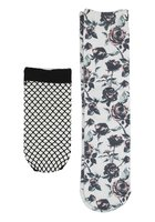 Empyre Rose Fashion Crew Socks