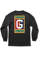 Grizzly Off The Court T-shirt Ls