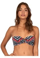 Billabong Sol Searcher V Wire Bandeau Bikini Top