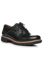 Clarks Batcombe Hall Black Leather 26127549g